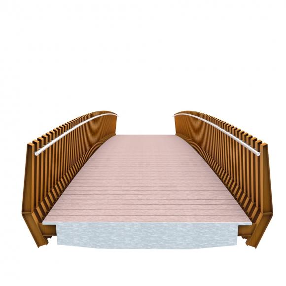 Millipede Bridges CorTen