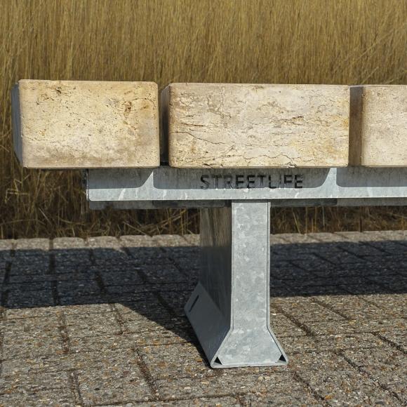 Stone Benches Travertino