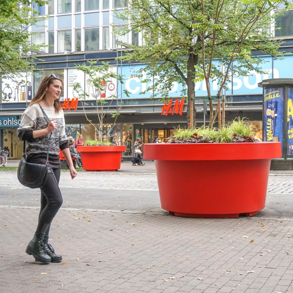 Tree Planters - Giant Flowerpots, Tampere