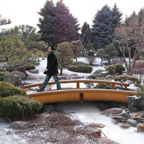 Zen CorTen Bridges