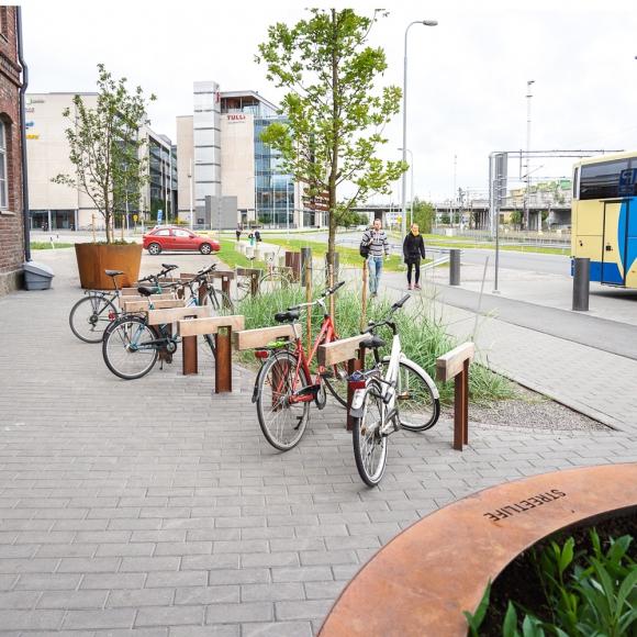 Rough&Ready Bike Parking
