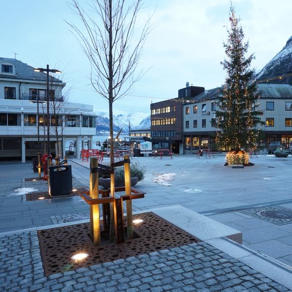 Tree Grilles CorTen Square
