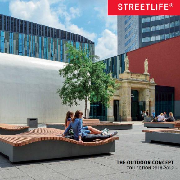 Stadtmöbel Streetlife Katalog 2018-2019