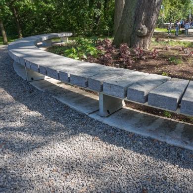 Stone Benches Granito