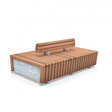 Solid Skirt Benches