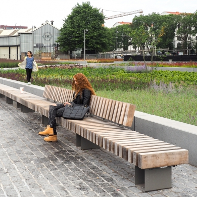 Rough&Ready Royal Curve Benches