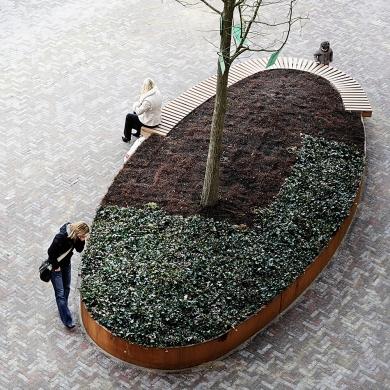 Rough&Ready Oval Tree Isles