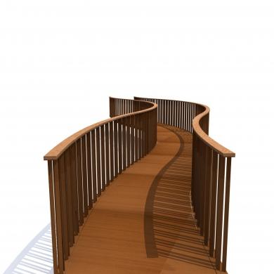 Bowie Serpentine Brücken