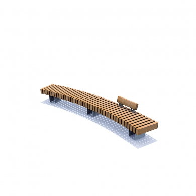 Rough&Ready Curve Benches
