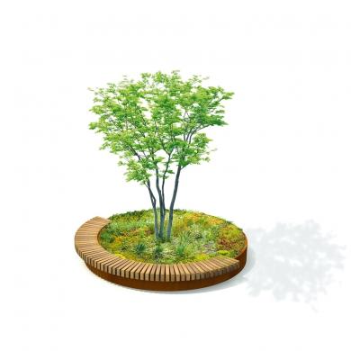 Circular Tree Isles