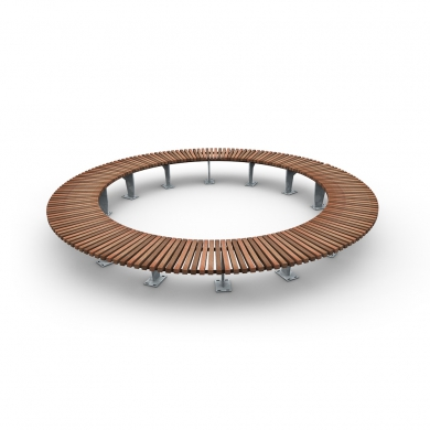 Olympic Wave Circular Benches